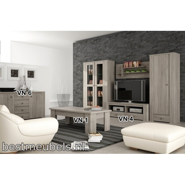 Complete woonkamer venus systeem f complete woonkamers for Complete woonkamer meubels