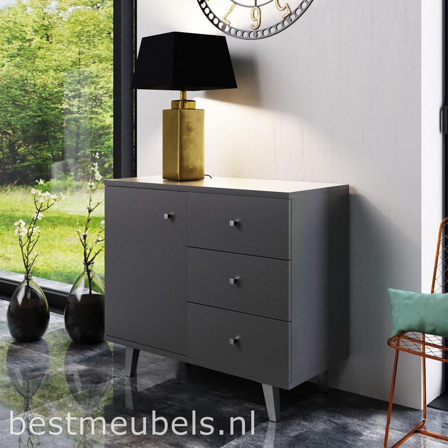 dressoir melfi voor woonkamer grijs goedkoop