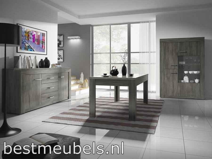 complete eetkamer , woonkamer toronto systeem b complete, Meubels Ideeën