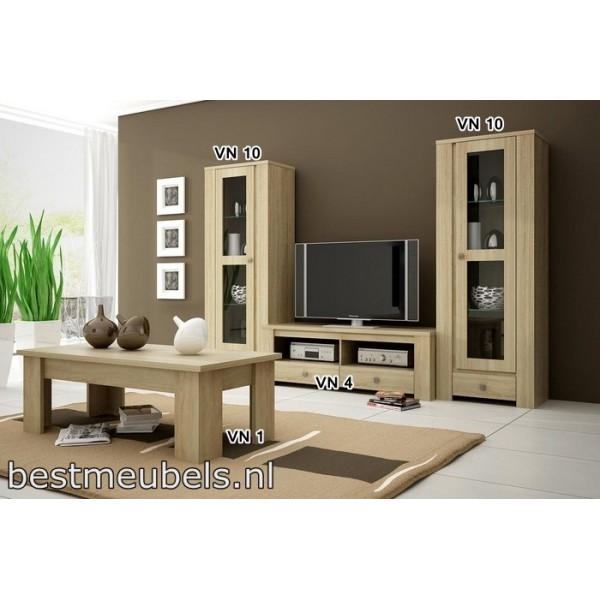 Tv kast tv meubel venus 4 direct leverbaar home best for Compleet interieur woonkamer