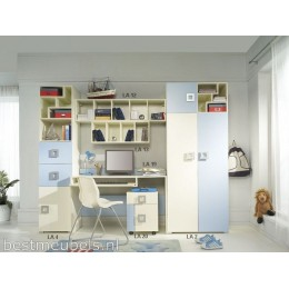 Kinderkamer - Jeugdkamer LABI - Systeem B