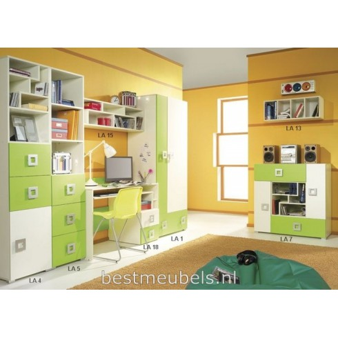 LABI Systeem D Complete Kinderkamer, Peuterkamer