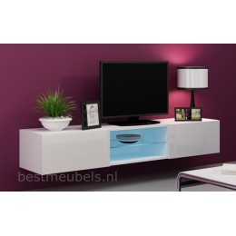 Zwevend Wandmeubel VERDI 10 NIEUW Tv-Kast / Tv-Meubel