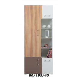 Wandkast BOLDI 4 Kinderkamer - Jeugdkamer