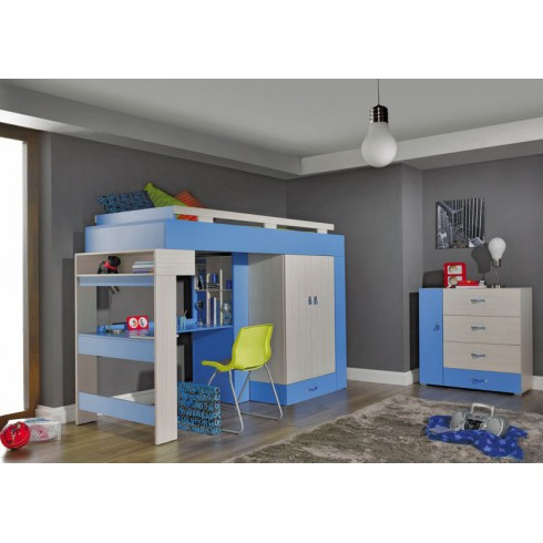 Kinderkamer - Jeugdkamer KOMEET Systeem D