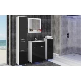 Badkamermeubel OMI hoogglans zwart