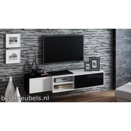 Zwevend  Tv-Meubel Hoogglans SAVO