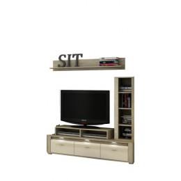 Tv Meubel CELANO + wandplank