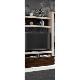 Tv-Meubel 120 cm + wandplank , ANDEL 1 , ANDEL 2 .