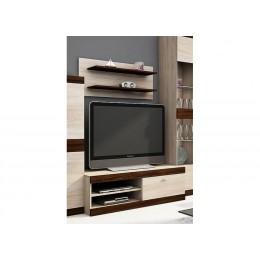 Tv-Meubel DUSSEN + wandplank