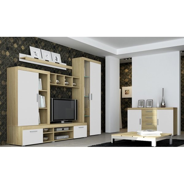 Complete woonkamer TONI met Led verlichting Complete Woonkamers Woonkamer Best