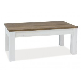 Massief houten salontafel BARLETTO