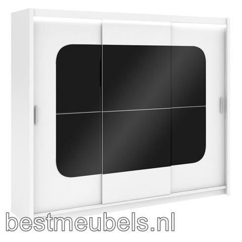 BRANDO Schuifdeurkast incl. led verlichting 250 cm