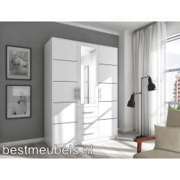 BORN 3D  Kledingkast met spiegel , Garderobekast met 3-deurs