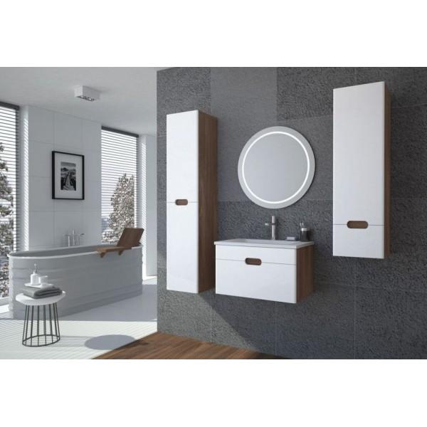 badkamermeubel hoogglans wit