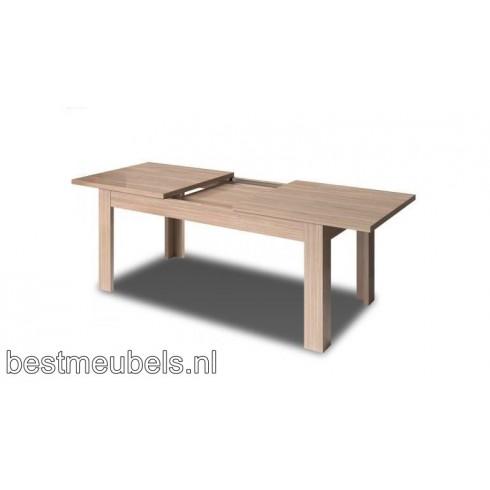 Witte Eettafel 220 Cm.Eettafel Venus Uitschuifbaar 170 220 Cm Eettafels Tafels Amp Stoelen