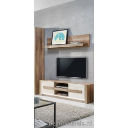 DOORN Tv Meubel + wandplank