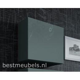 Design hoogglans hangkastjes VERDI , vierkant 50 x 50 cm
