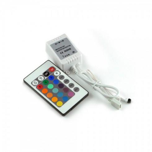 RGB Set led verlichting met afstandsbediening - Multicolor