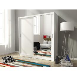 MACON Schuifdeurkast met spiegel 180 cm