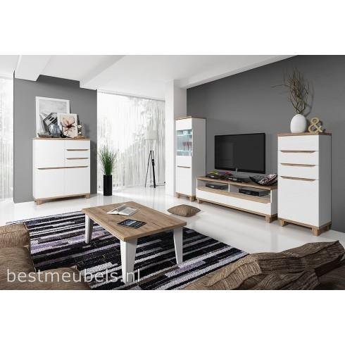 Loran complete woonkamer for Complete woonkamer meubels