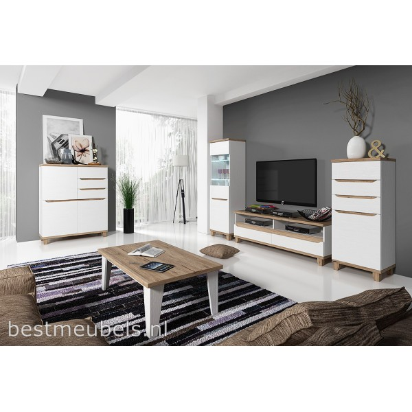 Perfect loran complete woonkamer with complete woonkamer for Woonkamer set compleet
