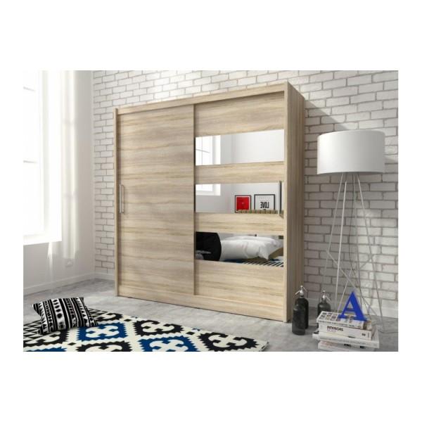 kledingkast met schuifdeuren. Black Bedroom Furniture Sets. Home Design Ideas