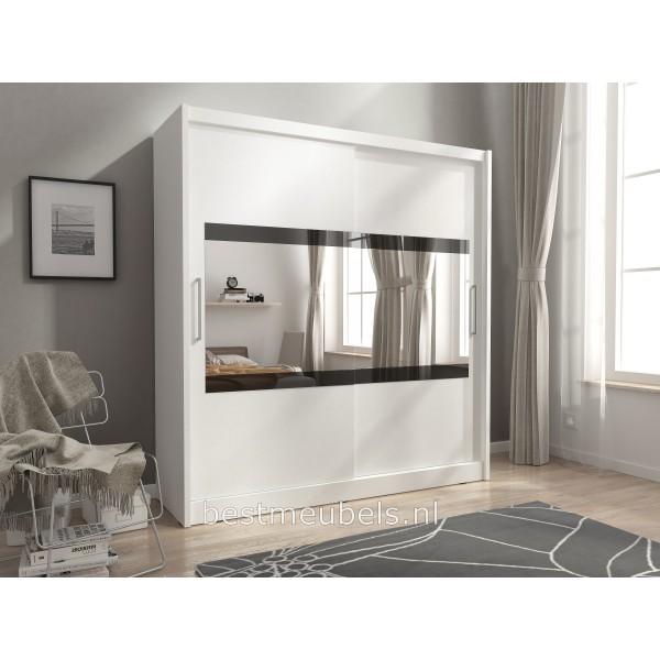 garderobekast met schuifdeuren. Black Bedroom Furniture Sets. Home Design Ideas