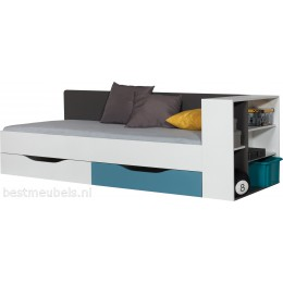 TAMI Bed , kinderbed met laden TA12