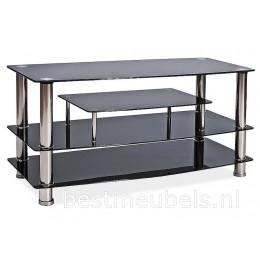 Tv-meubel BM862 , Tv-kast met gehard glas