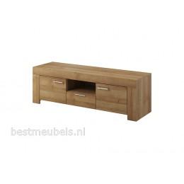 SOEST Tv-meubel + wandplank Eiken Riviera