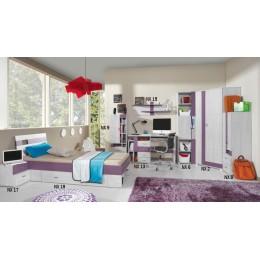Kinderkamer - Jeugdkamer - Tienerkamer NOXI  - Systeem B