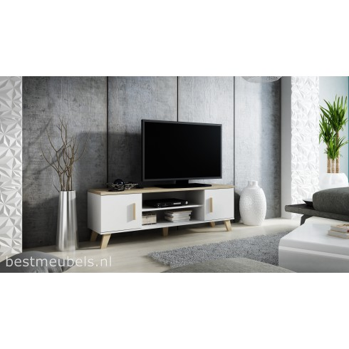 leta tv meubel 160 cm. Black Bedroom Furniture Sets. Home Design Ideas
