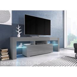 Gezocht Tv Meubel.Verdi 1 180cm Zwevend Tv Meubel Tv Kast Hoogglans Zwevende Tv