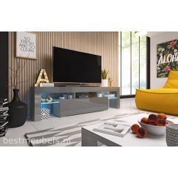 TYGO 158 cm Tv-meubel Hoogglans Grijs Tv-kast