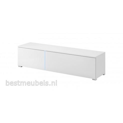 SIENA Tv-meubel hoogglans wit tv-kast