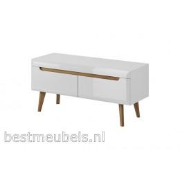 NOLAN Tv-meubel 107 cm Hoogglans wit.