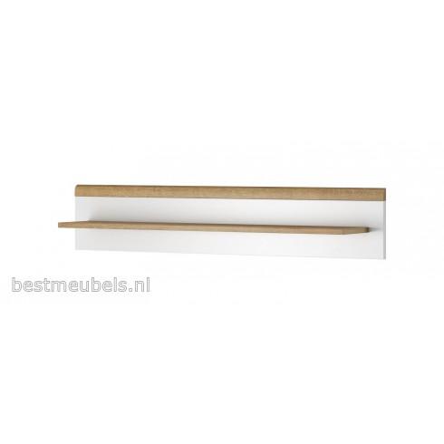 Wandplank Wit Hoogglans.Padi Wandplank Plank