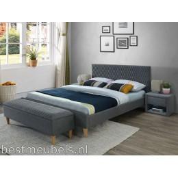 ALESSO Gestoffeerd bed 160cm