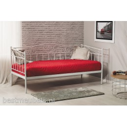 BELITO wit metalen bed