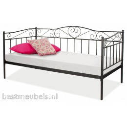 BELITO metalen bed, zwart