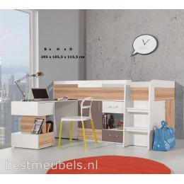 Bed met Bureau BOLDI 19 Kinderkamer - Jeugdkamer