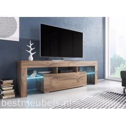 TYGO 138 cm Tv-meubel Antraciet Tv-kast