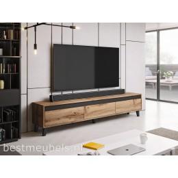 NAVE 185 cm Tv-meubel Eiken Wotan Tv-kast