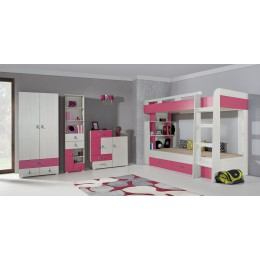 KOMEET Systeem A Kinderkamer Roze, Blauw