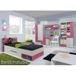 KOMEET Systeem C Kinderkamer Roze, Blauw Peuterkamer