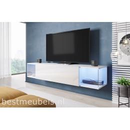 SALVE Zwevend Tv-meubel , Wit