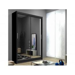 PIERO 120cm Schuifdeurkast met spiegel