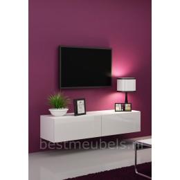 Zwevend Wandmeubel VERDI 1 Tv-Kast / Tv-Meubel 180cm