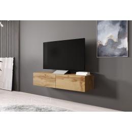 Verdi 4 Zwevend Tv-meubel 140cm Wotan